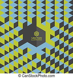 Abstract geometrical 3d background Background for business...