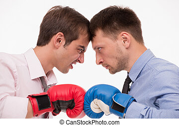 Business fighters - Competitiveness between two real...