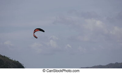 Kitesurfing on island Boracay and Bulabog - Kitesurfing on...