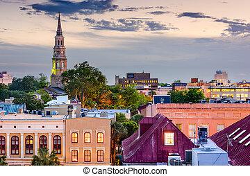 Charleston, contorno,