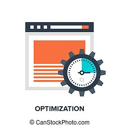 optimization - Abstract vector illustration of optimization...