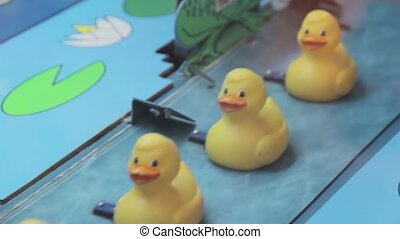 Rubber ducks in a row, HD