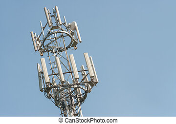 communications tower - telephone and intenet communications...