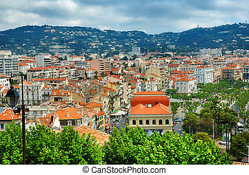 Cannes - City of Cannes, mediterranean sea - France