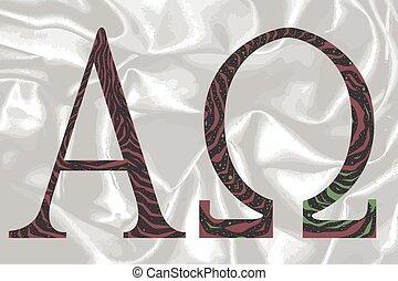 Alpha Omega - The Alpha - Omega symbols from the Christian...