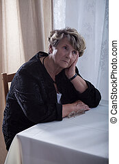 Problems after death - Old widow has lots of problems after...