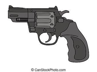 Short revolver