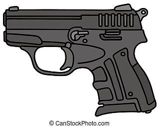 Mały, pistolet ręczny