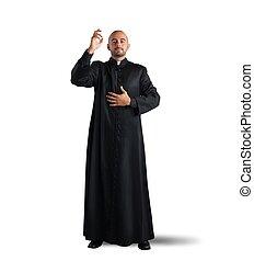 sacerdote, bendición