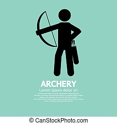 Archery - Archery Vector Illustration