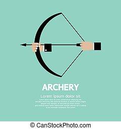 Archery. - Archery Vector Illustration.
