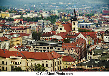 View of the city Brno, Czech Republic