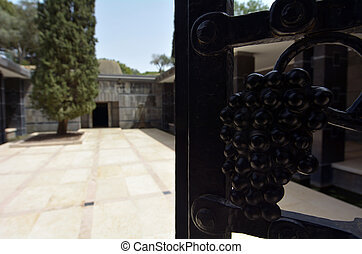 Rothschild family tomb in Ramat Hanadiv in Zikhron Yaakov...