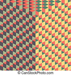 Abstract background with 3D-effect Vector illustration Can...