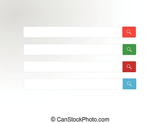 Web search bar vector illustration
