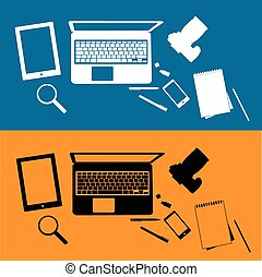 research tools vector