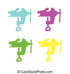 clamp vector