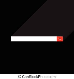 Web search bar vector illustration - Web search bars vector...
