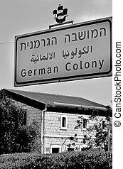 German Colony in Haifa, Israel - HAIFA, ISR - MAR 21...