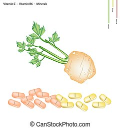 Celery Root with Vitamin C, B6 and Minerals - Healthcare...