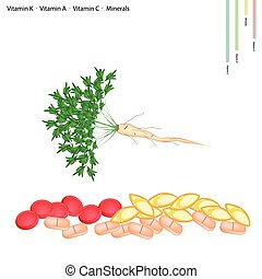 Parsley Root with Vitamin C, B6 and Minerals - Healthcare...