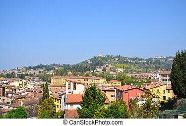 Verona, the beautiful historic center of the Veneto - Italy