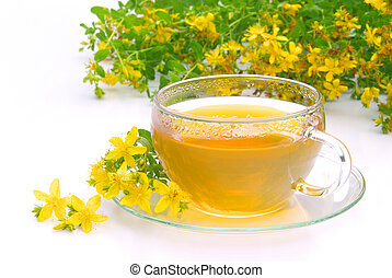 tea St Johns wort 09