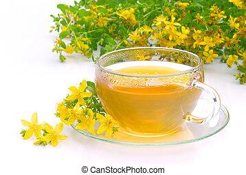 tea St Johns wort 09