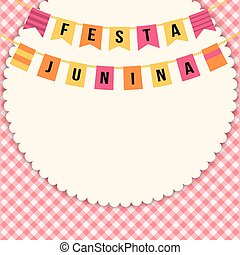 Festa Junina illustration - Brazil june festival - Festa...