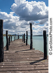 The jetty at Hotel Cala Di Volpe Sardinia