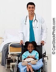 助力, 医者, 病気, 子供