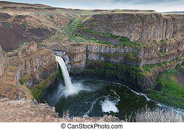 Palouse Falls, Palouse Falls State Park, Lacrosse,...