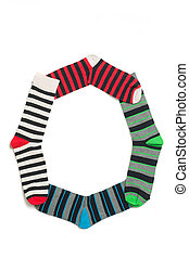 Number 0 made from more than 2 pairs of socks The best...