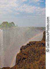 VICTORIA, simbabwe, fällt