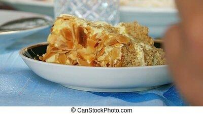 Honey cake macro