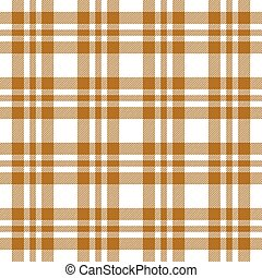 Checkered tablecloths pattern endlessly - brown