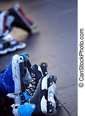 patinadores,