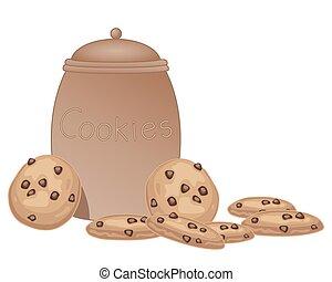 jar of cookies