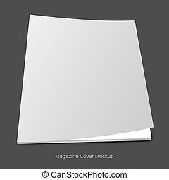 blank brochure or magazine mockup - Blank brochure or...