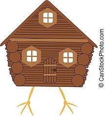 Fairy hut on chicken legs
