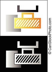 Metalworking symbol 4 - Vector illustration - Metalworking...