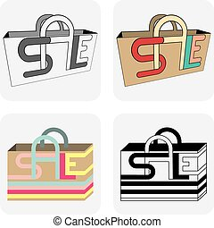 Sale bags for shopping