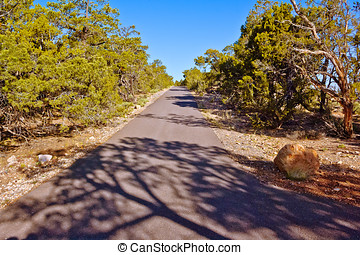 The Old Hermit Trail Grand Canyon South Rim - The paved...