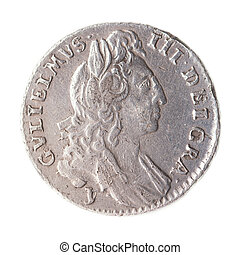 sixpence of william III 1691 obverse - sixpence of William...