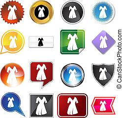 Sleeve Dress Variety Set