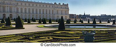French garden at Versailles