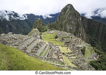 hidden city Machu Picchu in Peru - miracle of hidden city...