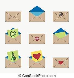 Vector envelopes set