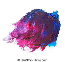 red blue grunge brush strokes - photo stain, red blue grunge...