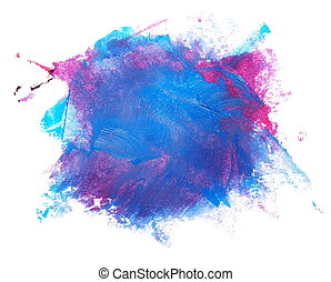 blue red grunge brush strokes - photo stain, blue red grunge...